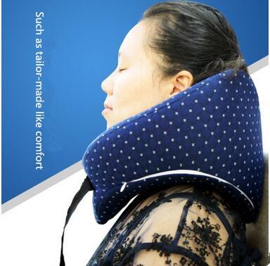 Soft U Shaped Neck Pillow Memory Foam Health Care Pillow Airplane Car Travel Pillows<br><br>Aliexpress
