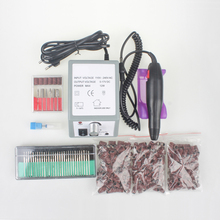 NEW Electric Nail Drill Manicure Set File Nail Pedicure Pen Machine Set Kit With Extra Ceramic Nail Drill Bit  Sanding bands