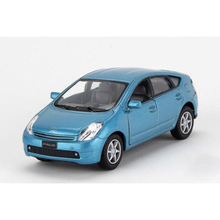 Children Kids Kinsmart Toyota Prius Model Car 1:34 KT5093 5inch Diecast Metal Alloy Cars Toy Pull Back Gift