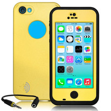 For IPhone 5c Waterproof Case Life Water Proof Case Shockproof Dirt Proof Phone Cases for Iphone 5c Snowproof Phone Cover Cases