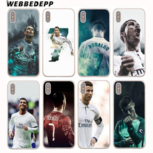 Buy WEBBEDEPP Cristiano Ronaldo CR7 Football Hard Cover Case iPhone 8 7 6S Plus X/10 5 5S SE 5C 4 4S for $1.49 in AliExpress store