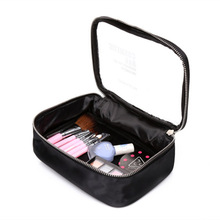 Women Transparent cosmetic bag High Quality PVC Toiletry Bags Travel Organizer Make up Beauty Case