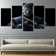 HD printed 5 piece canvas art movie posters star wars painting living room decor panel framed artwork free shipping CU-1296