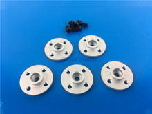 5pcs/lot,Metal Servo Hub horn, Metal steering wheel,Small disc stents MG995 MG996R etc. standard suitable for standard size