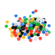 New 20pcs Round Mixed Color Tactile Button Caps Kit For 12x12x7.3MM Tact Switches New Product Offers(China)