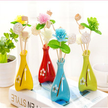 No fire aroma ceramic aroma bottle decoration wedding gifts modern ceramic vase living room small ornaments air freshener