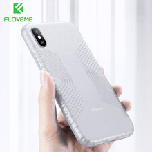 FLOVEME Shockproof Phone Case For iPhone 7 8 Plus 6 6s Soft TPU Case for iPhone X Xr Xs Max Cover Cases Funda Coque(China)