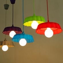 Edison Ceiling pendant Colorful Rubber Light Lamp Silicone Foldable Creative Decorate Kid's Bedroom Cafe Bar Store Hall Coffee