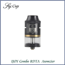 100% Original iJoy Combo RDTA RDA Sub Ohm Tank Atomizer 6.5ml e-Juice Capacity With Side Filling System