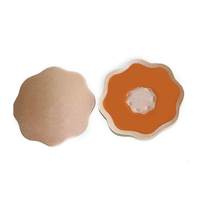 2Pair Extender For Bra Sexy Bra Pad Reusable Self Adhesive Silicone Breast Petals Bra Pasties Nipple Cover Pad Pasties Intimates 1