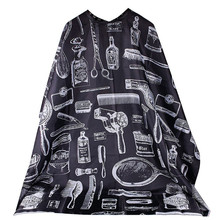 Black Professional Hot Salon Hairdressing Hairdresser Hair Cutting Gown Barber Cape Cloth Salon Barber Gown Cape for Hairdresser