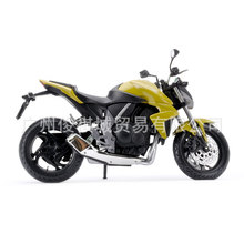 Free Shipping Junki 1:12 Honda motorcycle model HONDA CB 1000R model 6011 yellow toy motorcycle Hot Sale