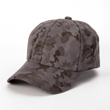 2017 New baseball cap fitted hat Outdoor Sport Camouflage Suede PU Army Fans Caps Male Hats Golf leisure hats men's accessories