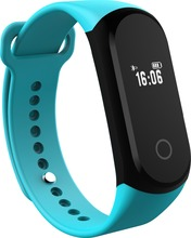 A16 Smart Bracelet Wristband Fitness Tracker IOS Android Smartband Heart Rate Monitor Calories Drink Reminder(China)