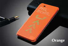Case for HTC 820 G Slim Dot Bag Smart Auto Sleep View Shockproof Silicone Original Leather Flip Cover For HTC Desire 820G 820(China)