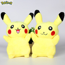 Hot Sale 2016 New 20cm/8inch Children Gift High Quality Special Offer Pikachu Plush Toys Very Cute Pokemon Plush Toys