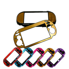 8 Colors Protective Aluminum Metal Skin Cover Case for PS Vita/ psvita 1000 - Free shipping(China)