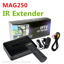 Iptv Set Top Box Mag 250 Same With Mag254 Iptv Mag250 with IR Extender Linux 4K TV Box Media Player not include channels account