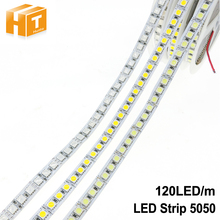 5050 LED Strip 120 LEDs/m DC12V Flexible Neon Lighting RGB/White/Cold White/Warm White Indoor Home Decoration 5m(China)