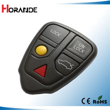 Replacement car keys for Volvo 3+1 button remote control key case fob(China)