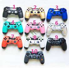 E-house Customs 11 Color Optional for PS4 JDM-011 Controller Case Cover Housing Shell Replacement for Playstation 4 Controller(China)