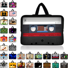 "Radio Owl Neoprene Notebook Laptop Bag Sleeve Case For 10.1 11.6 13.3 14"" 15.4 15.6 17 inch Computer For Asus HP Acer Lenovo N1"
