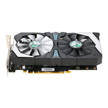 MAXSUN GeForce GTX 1050Ti Terminator 4G Video Graphics Card 1291-1392MHz/7000MHz 4G/128bit GDDR5 PCI-E 3.0 X16 Two Cooling Fans