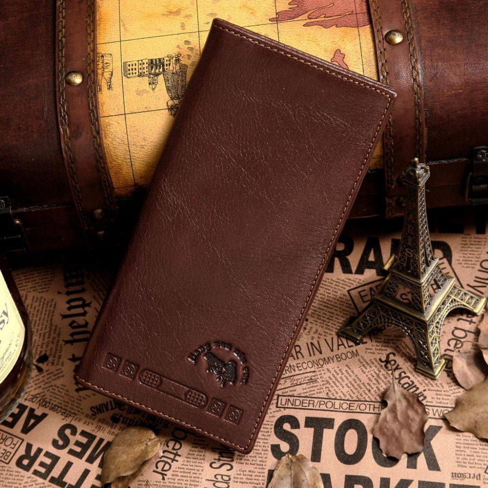 New Arrival Mans Genuine Leather Fashioable Wallet Card Holder Purse 20PCS/LOT # 8016-1C<br><br>Aliexpress