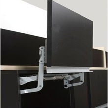 Soft open lift up Mechanism support system for cabinet cupboard closet door hinge damper microwave front panel