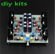 DIY KITS JLH HOOD 1969 Class A Amplifier Small Power Amplifier Pre-amp For Speakers(China)
