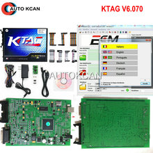 Hot Sale KTAG V2.13 Hardware V6.070  /Ktag v7.020 V2.23 Unlimited Version K TAG Master ECU Programming Tool K-TAG  Free Shipping