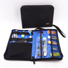Roll UP Electronics Accessories Case Storage Travel Organizer / Hard Drive Bag / Cable Stable/ Baby Healthcare Kit(China)