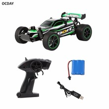 OCDAY RC Car 4WD 2.4GHz 4CH Radio-Management Remote Control Car Model 1:20 Off-Road Vehicle Toy High Speed Remote Control Car
