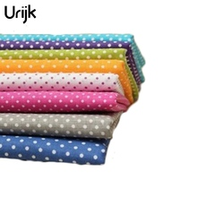 Urijk 8PCs Cotton Fabric For Patchwork Cloth DIY Handmade Sewing Home Decor Material Cheap Fabric Patchwork Accessories 25x25cm(China)