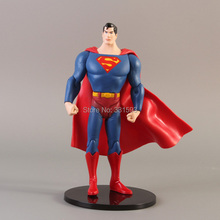 New DC Comics Superman Super Man 7 inches Loose Action Figure Toy Model Promotion Toys Free Shipping(China)