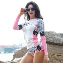 Sabolay beach clothes floating diving suit surfing clothes bathing suit jellyfish female Rash Guards VY004(China)