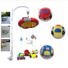 Musical Mobile toys sets Baby Electric Bed Bell crib with the high Arm and toys new function could download the song you like(China)