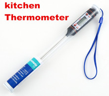5pcs Digital Kitchen Household Cooking Thermometer Temperature Sensor Probe BBQ For Kitchen Food Tools with retail box 40% off