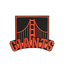 San Francisco Giants Golden Gate Bridge Logo Sleeve Alternate Jersey Patch MLB Embroidery iron on or sew on