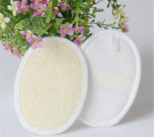 Natural Effective Exfoliator Bath Brush Massager Shower Loofah Luffa Back Spa Sponge(China)