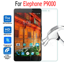 Elephone P9000 Tempered Glass For Elephone P9000 P 9000 Phone Screen Protector Cover Protective Film Case With Cleaning Tool(China)