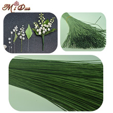 20PCS/lot 0.8mm Diameter Paper iron wire used for Nylon Flower Accessory Fondant Flower Decoration Diameter(China)