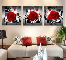 beautiful rose flower artistic pictures posters and prints modular paintings on the wall wall painting flower cuadros decoracion