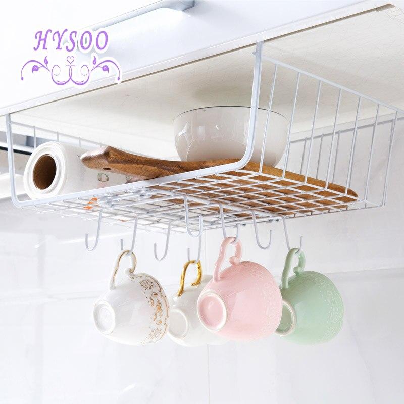 Charmant Kitchen Cabinet Under Counter Cabinet Shelf Table Bottom Hook Storage Shelf  Pallet Finisher