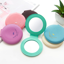 1pc Portable Lovely Mirror Candy Colored Camel Women Cosmetic Compact Mirrors Black Yellow Blue Mirror Cute Small P10