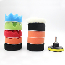 3inch 80mm Buffing Pad Polishing Pad Kit For Car Polisher--M14 Thread For Car Polisher(China)