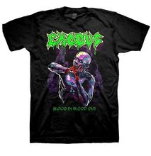 FL&AEVVE EXODUS Zombie Blood In Blood Out T SHIRT New Official T Shirt the walking dead t shirt(China)