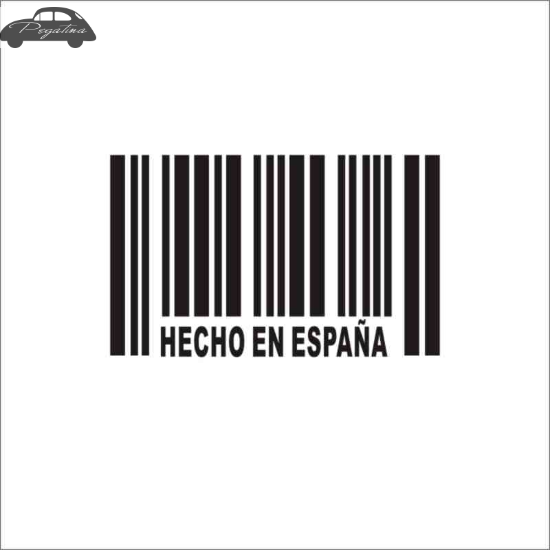 Pegatina Hecho En Espana Decal Made in Spain Sticker Car Window Vinyl Decal Funny Poster Motorcycle