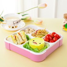 Lunch Boxs 5 Slots Practical Leak-Proof Bento Box Portable Lunchbox Good Quality Picnic Box 5 Compartments Food Container(China)