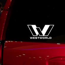 Westworld Windows car accessories die cut waterproof Sticker Decal for Car Truck Suv Motorcyle 6''wide white black red